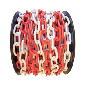 plastic-traffic-chain-red-white