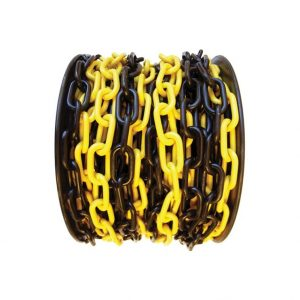 plastic-traffic-chain-yellow-black